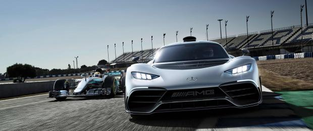 Mercedes-AMG Project One : La Formule 1 de la route