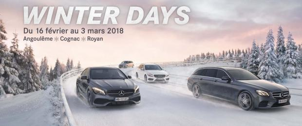 Winter Days Mercedes-Benz : Du 16 février au 3 mars 2018 !